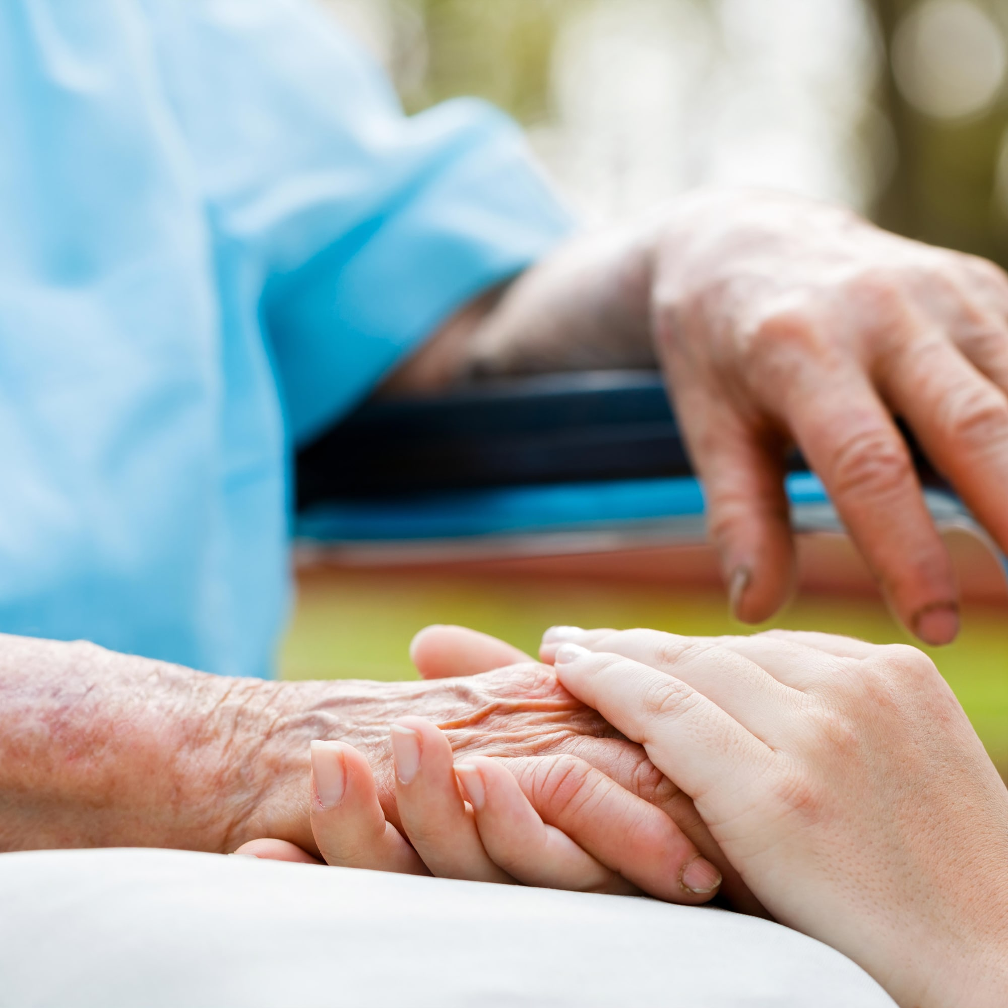Elderly and sick people